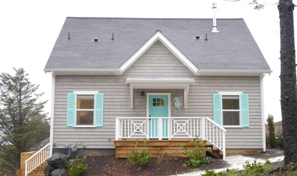 Front side of Seaview Cottage.
